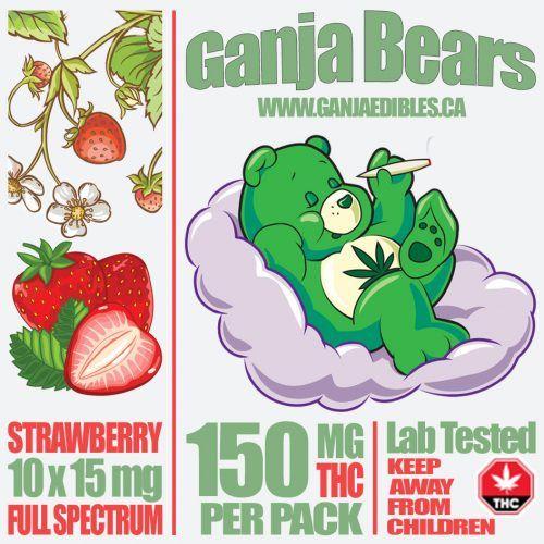 (new) Ganja Gummy Bears (Strawberry Gummies)  image