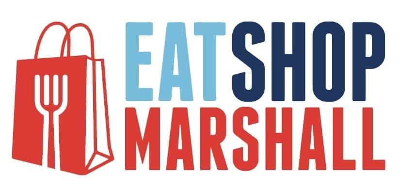 EatShopMarshall logo