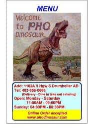 Pho Dinosaur image