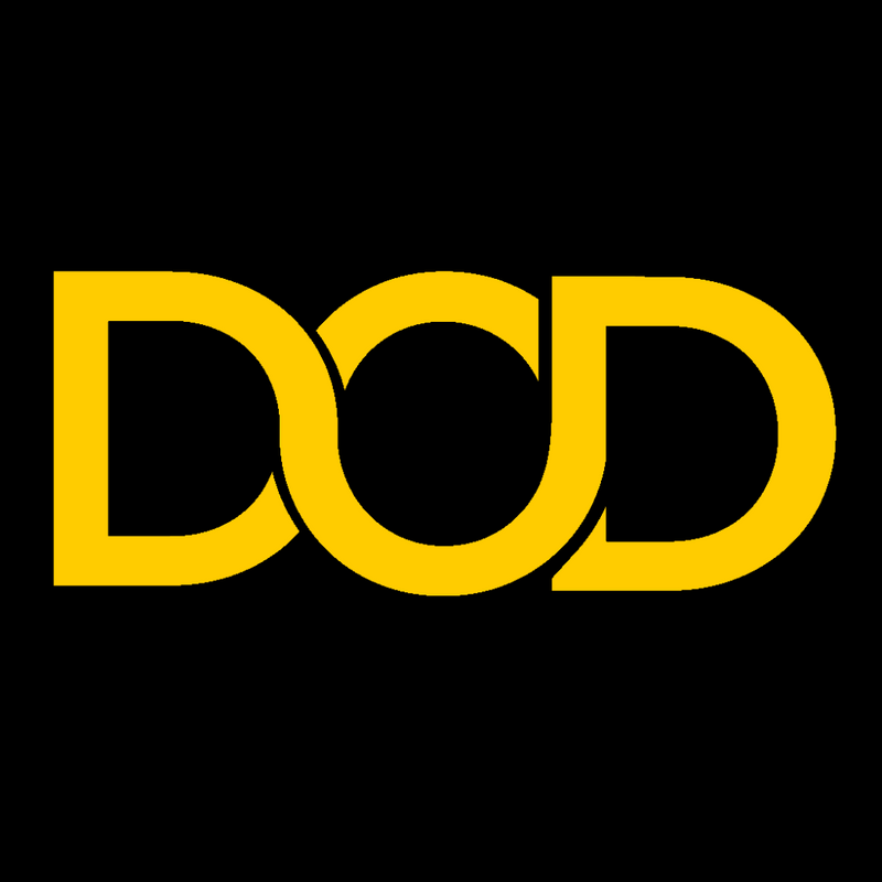 DOD - Anything, Anywhere. logo