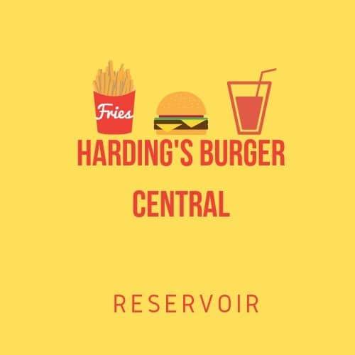 Harding Burger Central Reservo logo