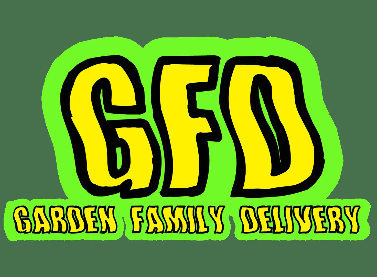 Garden family delivery logo