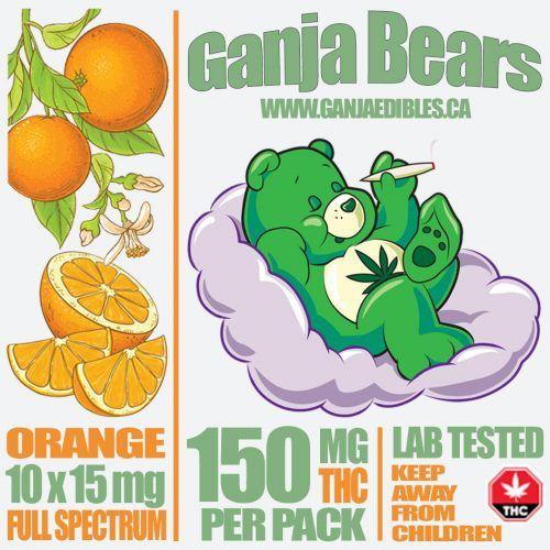 (new) Ganja Gummy Bears (Orange gummies) image