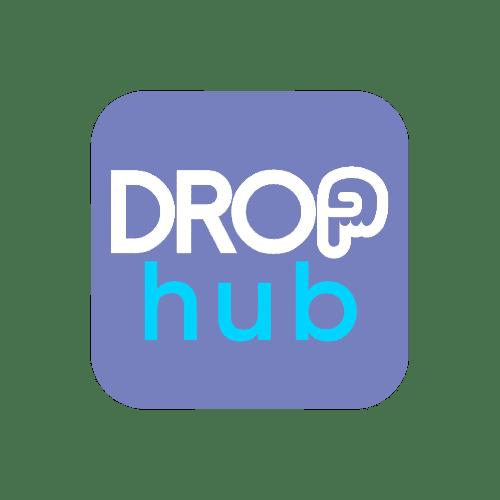 DROP hub: everything, delivered. logo