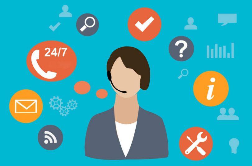 Customer service agents image