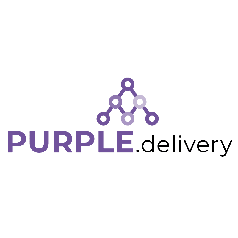 PURPLE delivery logo