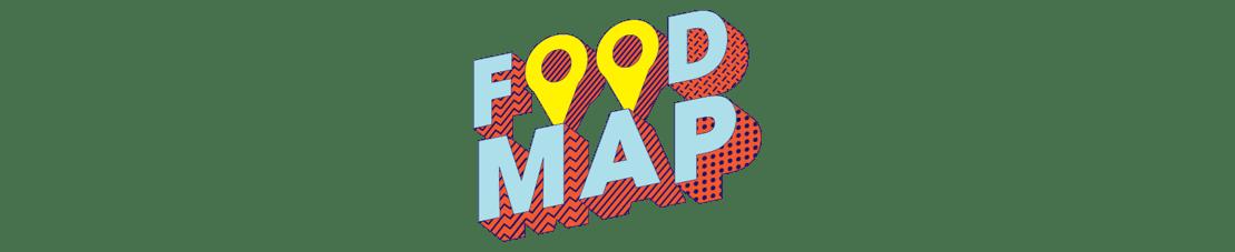FOOD MAP logo
