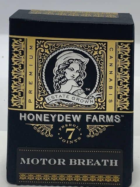 Honeydew Farms 7-pack Pre-Roll Motor Breath 21.5% THC image