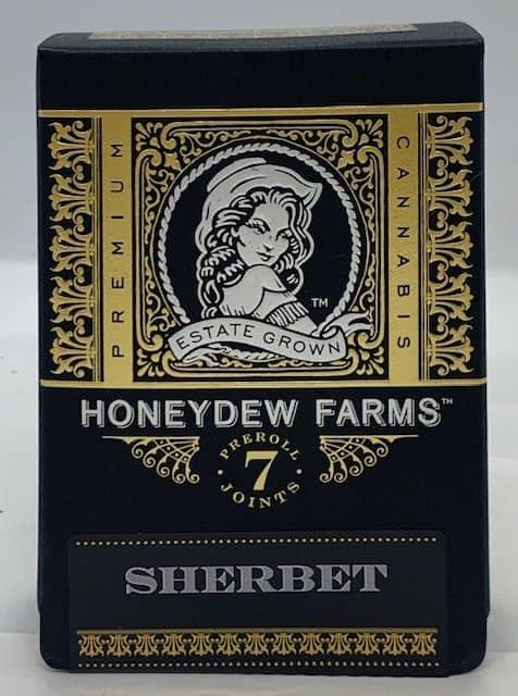 Honeydew Farms 7-pack pre roll SHERBET  21.9% THC image