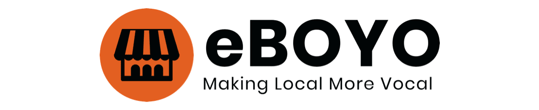 eBOYO, Making Local More Vocal logo