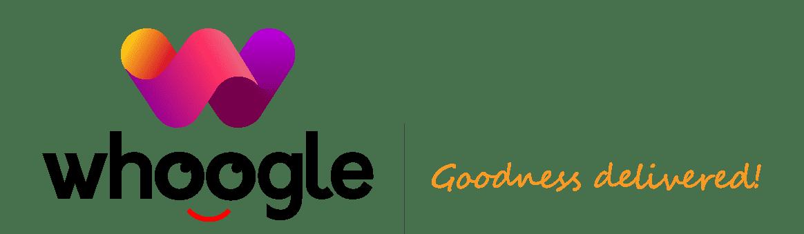 Whoogle - Goodness Delivered! logo