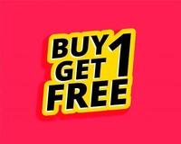 Buy 1 Get 1 image