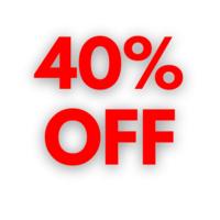 40% OFF image