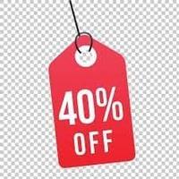 40 % OFF image