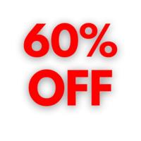 60% OFF image