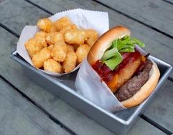 Hank Williams Burger image