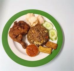Nasi Goreng Ayam Penyet image