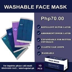 Washable Face Mask (1pc) image