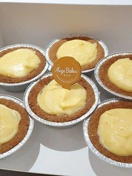 (U.P: $27) Keto Lemon Tarts (Box of 6)  image