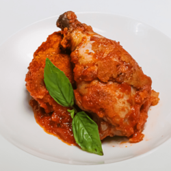 [Ready-to-Heat] Braised Chicken in Tomato Puree & Basil  image