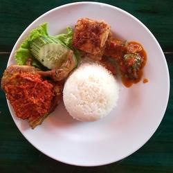 Set Ayam Kampung Penyet image