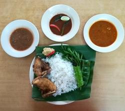 Set Nasi Ayam Kampung Double image