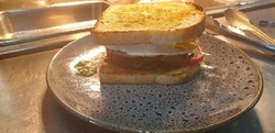 Traditional Egg and Bacon Sandwich image