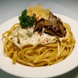 [Ready-to-Heat] Linguine with Wild Forest Mushrooms 450g image