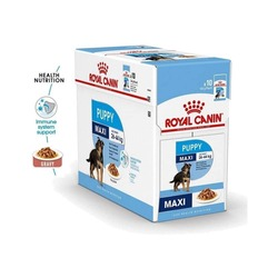Royal Canin Maxi Puppy Dog Wet Food - 140 gms image
