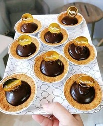 (U.P: 33) Keto Lindt Chocolate Tarts (Box of 6)  image