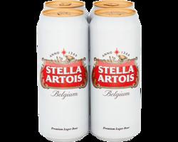Stella Artois 500ml 4 Pack image