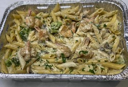 Family Penne With Shrimps image