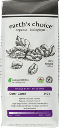 Earth'S Choice Coffee Beans Dark Org image