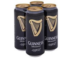 Guinness Draught 440ml 4 Pack image