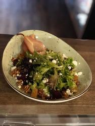 Poached Pear Salad (V) image
