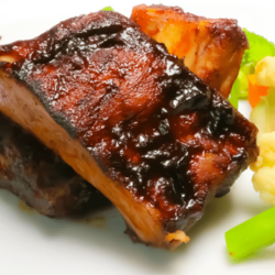 [Ready-to-Heat] Pork Ribs 4-Hour Baked with Coffee Guava Jelly Glaze  image