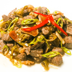 [Ready-to-Cook] Usda Beef Salpicao with Garlic Oil  image