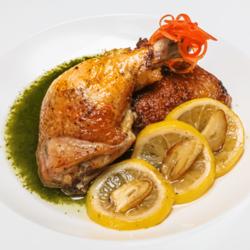 [Ready-to-Heat] Chicken with Garlic, Lemon & Tarragon Oil  image