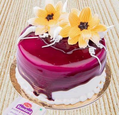 Blueberry Cake-Egg image