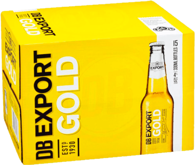 Export Gold Bottles 15x330mL image