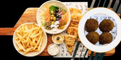 Falafel Platter image
