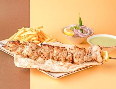 Chicken Malai Tikka Kebab image