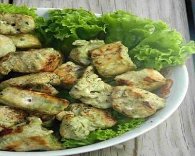 Vegetable Hariyali Kabab ( Onion Bhaji Special) image