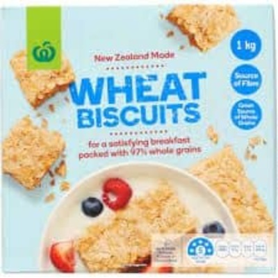 WW CEREAL WHEAT BISCUITS 1KG image