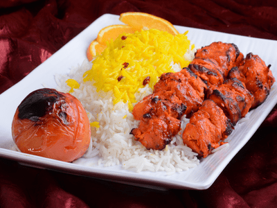 Chicken Tikka with Rice image