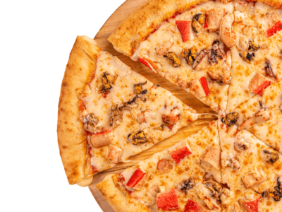 Seafood Pizza image