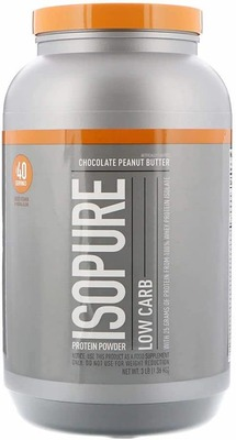 ISOPURE ZERO CARB PROTEIN POWDER, 3lbs (1.36kg) - 4 Flavours image