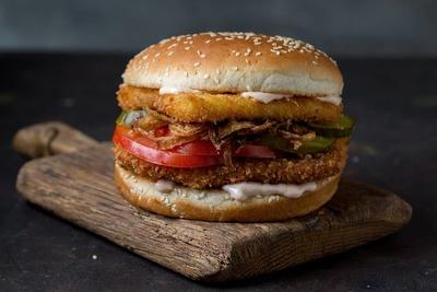 Fried Chicken Burger image