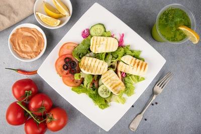 Halloumi Cheese Salad image