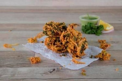 Kale Onion Bhaji (Best Selling) (6 Pcs) image